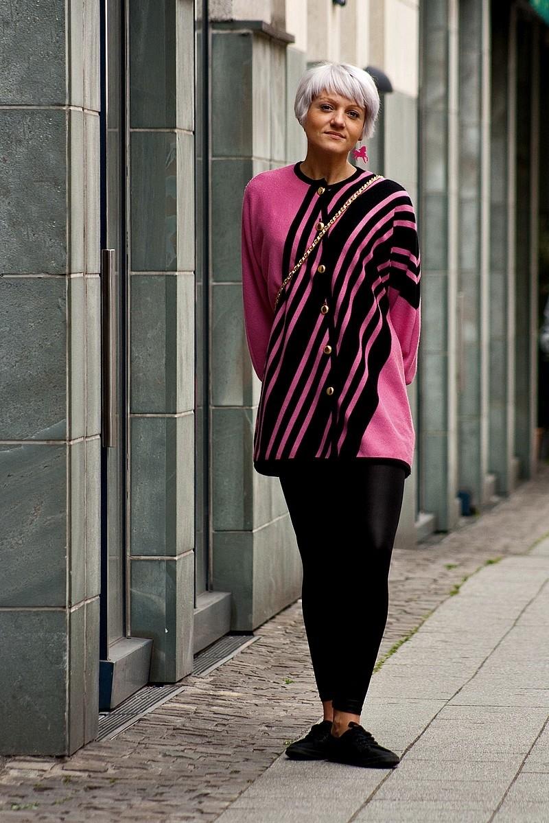Anders anziehen silberpink for Shein frauen mode