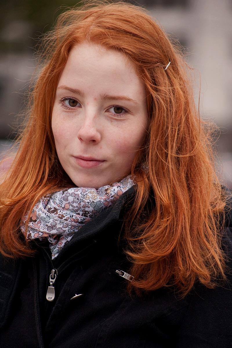 Irische frau rote haare